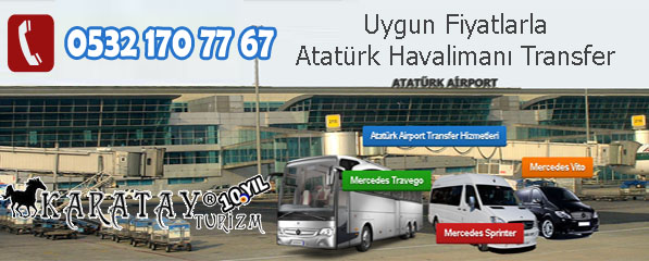 Atatürk airport transfer hizmetleri